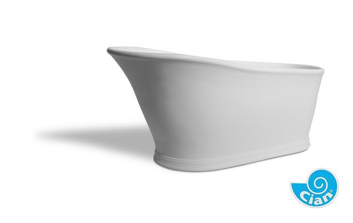 Valentina Cian Free Standing Solid Cast Bath Boutique Baths