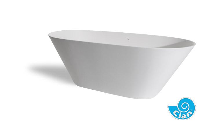 Bellissima Cian Free Standing Solid Cast Bath Boutique Baths