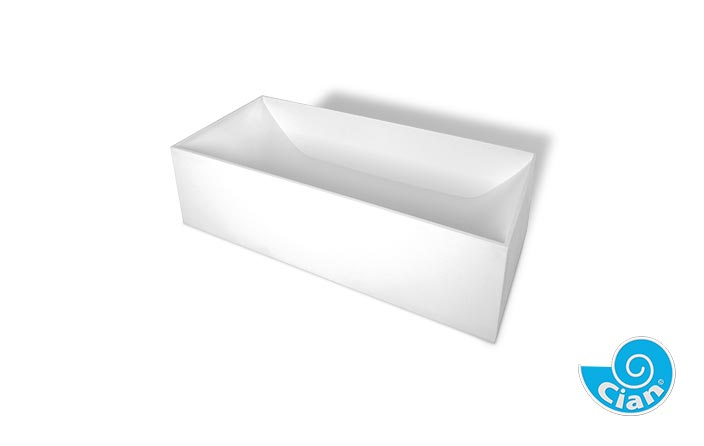 Diamond Cian Free Standing Solid Cast Bath Boutique Baths