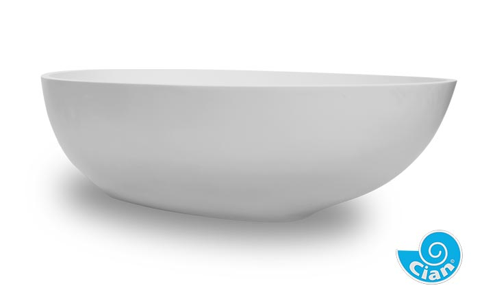 Giocoso Cian Free Standing Solid Cast Bath Boutique Baths