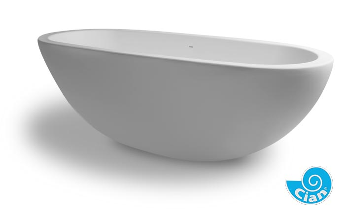 Loeffie Cian Free Standing Solid Cast Bath Boutique Baths