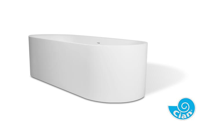 Omina Cian Free Standing Solid Cast Bath Boutique Baths