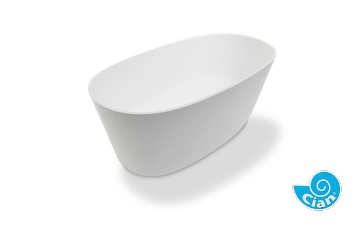 Sorpressa Cian Free Standing Solid Cast Bath Boutique Baths