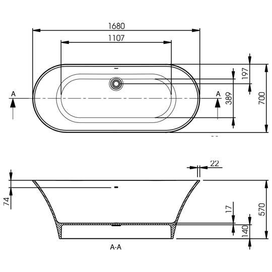 Verdicio Technical Specifications Drawing